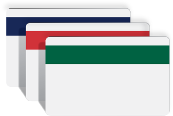 COLORED MAGNETIC STRIPE